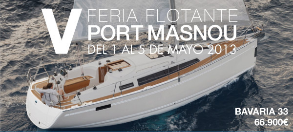 Feria flotante Port Masnou 2013
